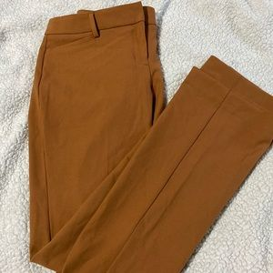 Very flattering Barely bootcut dress pants